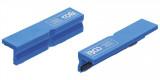BGS Technic 9-3046 lágy pofa satuhoz, mágneses, műanyag, 125 mm