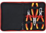 BGS Technic 9-7158 VDE szigetelt fogó készlet 1000 V-ig, 3 részes