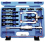 BGS Technic 9-7710 ipari csapágylehúzó készlet csúszókalapáccsal, belső, 8-34 mm, 10 részes
