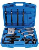 BGS Technic 9-7729 hidraulikus csapágylehúzó és szétválasztó készlet, max. 10 t, 25 részes