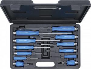 Kraftmann 9-7890 üthető csavarhúzó készlet (lapos, Phillips), 12 részes termék fő termékképe