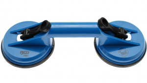 BGS Technic 9-7991 dupla üvegfogó tappancs, műanyag, fix fejek, max. 60 kg termék fő termékképe