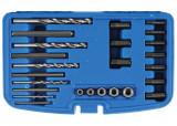 BGS Technic 9-8462 csavarkiszedő, törtcsavar kifúró készlet, 25 részes
