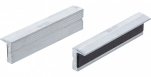 BGS Technic 9-9282 lágy pofa satuhoz, betét nélkül, mágneses, bordázott alumínium, 125 mm termék fő termékképe