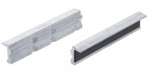 BGS Technic 9-9285 lágy pofa satuhoz, betét nélkül, mágneses, V-alakban bemetszett alumínium, 150 mm termék fő termékképe