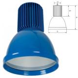 Elmark LED csarnokvilágító lámpatest, kék, 2400 lm, 5500 K, 30 W