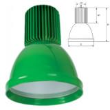 Elmark LED csarnokvilágító lámpatest, zöld, 2400 lm, 5500 K, 30 W