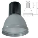 Elmark LED csarnokvilágító lámpatest, szürke, 1950 lm, 5500 K, 30 W
