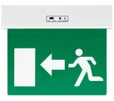 """Elmark LED vészvilágító lámpatest, """"Exit"""" oldalra mutató nyíllal, 3 W"""