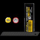 Olfa ABB-50 tördelhető penge, fekete, 9 mm, 50db/csomag