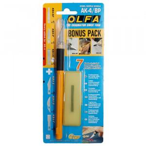 Olfa AK-4/BP professzionális művészkés 1 + 6 db ajándék pengével termék fő termékképe