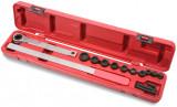 Ellient Tools AT1040 ékszíjszerelő készlet, extra hosszú, irányváltós, racsnis kivitel, 15 részes
