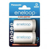 Panasonic BQ-BS1E/2E eneloop adapter, AA -ról D -re, 2 db/bliszter