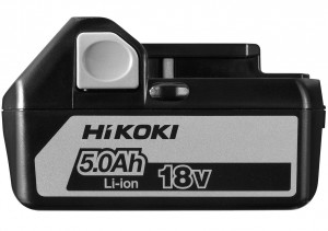 HiKoki BSL1850 csúszótalpas Li-ion akkumulátor, 18V, 5.0Ah termék fő termékképe