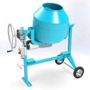 """Omaer C190 SBL """"SILENT"""" hajtóműves ipari betonkeverő termék fő termékképe"""