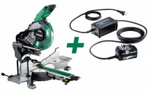 HiKoki C3610DRA-BASIC+ET36A MULTI VOLT akkus szénkefe nélküli gérvágó + ET36A hálózati adapter (akku és töltő nélkül) termék fő termékképe
