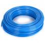 Rectus MFPU0604K poliuretán SHORE A 98 egyenes tömlő, kék, 6x4x1 mm, 100 m/tekercs