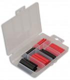 CON-36819 piros és fekete zsugorcső készlet, 60 darabos