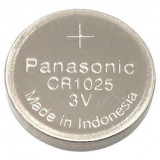 Panasonic CR-1025 mangándioxid-lítium gombelem, 3 V, 30 mAh