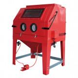 Torin Big Red DJ-SBC990 ipari homokszóró szekrény + ciklon porelszívó, 990 literes
