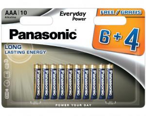 Panasonic LR03EPS-10BW6-4F EVERYDAY POWER alkáli elem, AAA (micro), 10db/bliszter termék fő termékképe