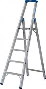 Krause STABILO Professional egy oldalon járható lépcsőfokos állólétra, 5 fokos termék fő termékképe