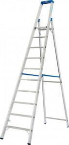 Krause STABILO Professional egy oldalon járható lépcsőfokos állólétra, 10 fokos termék fő termékképe