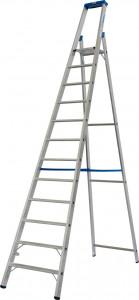 Krause STABILO Professional egy oldalon járható lépcsőfokos állólétra, 12 fokos termék fő termékképe