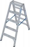 Krause STABILO Professional két oldalon járható lépcsőfokos állólétra, 2x5 fokos