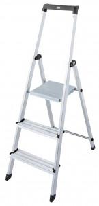 Krause MONTO Solidy egy oldalon járható lépcsőfokos állólétra, 3 fokos termék fő termékképe