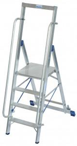 Krause STABILO Professional egy oldalon járható lépcsőfokos állólétra nagy dobogóval, 4 fokos termék fő termékképe