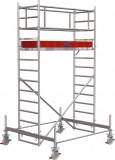 Krause STABILO Professional gurulóállvány, 100 -as sorozat, mezőméret: 2 m x 0.75 m, munkamagasság: 4.4 m