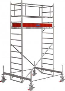 Krause STABILO Professional gurulóállvány, 100 -as sorozat, mezőméret: 2 m x 0.75 m, munkamagasság: 4.4 m termék fő termékképe