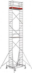 Krause STABILO Professional gurulóállvány, 100 -as sorozat, mezőméret: 2 m x 0.75 m, munkamagasság: 10.4 m termék fő termékképe