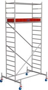 Krause STABILO Professional gurulóállvány, 10 -es sorozat, mezőméret: 2 m x 0.75 m, munkamagasság: 5.4 m termék fő termékképe