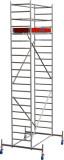 Krause STABILO Professional gurulóállvány, 10 -es sorozat, mezőméret: 2 m x 0.75 m, munkamagasság: 6.4 m