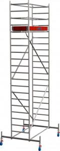 Krause STABILO Professional gurulóállvány, 10 -es sorozat, mezőméret: 2 m x 0.75 m, munkamagasság: 6.4 m termék fő termékképe