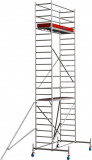 Krause STABILO Professional gurulóállvány, 10 -es sorozat, mezőméret: 2 m x 0.75 m, munkamagasság: 7.4 m
