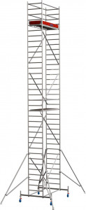 Krause STABILO Professional gurulóállvány, 10 -es sorozat, mezőméret: 2 m x 0.75 m, munkamagasság: 10.4 m termék fő termékképe