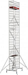 Krause STABILO Professional gurulóállvány, 10 -es sorozat, mezőméret: 2 m x 0.75 m, munkamagasság: 11.4 m termék fő termékképe