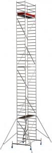 Krause STABILO Professional gurulóállvány, 10 -es sorozat, mezőméret: 2 m x 0.75 m, munkamagasság: 12.4 m termék fő termékképe