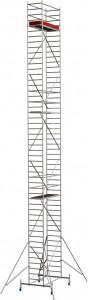 Krause STABILO Professional gurulóállvány, 10 -es sorozat, mezőméret: 2 m x 0.75 m, munkamagasság: 14.4 m termék fő termékképe