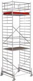 Krause STABILO Professional gurulóállvány, 500 -as sorozat, mezőméret: 2 m x 1.5 m, munkamagasság: 7.4 m