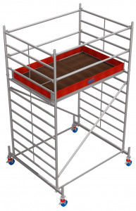 Krause STABILO Professional gurulóállvány, 50 -es sorozat, mezőméret: 2 m x 1.5 m, munkamagasság: 4.4 m termék fő termékképe