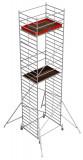 Krause STABILO Professional gurulóállvány, 50 -es sorozat, mezőméret: 2 m x 1.5 m, munkamagasság: 9.4 m
