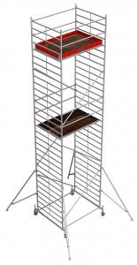 Krause STABILO Professional gurulóállvány, 50 -es sorozat, mezőméret: 2 m x 1.5 m, munkamagasság: 9.4 m termék fő termékképe