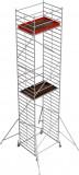 Krause STABILO Professional gurulóállvány, 50 -es sorozat, mezőméret: 2 m x 1.5 m, munkamagasság: 10.4 m