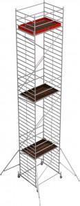 Krause STABILO Professional gurulóállvány, 50 -es sorozat, mezőméret: 2 m x 1.5 m, munkamagasság: 12.4 m termék fő termékképe