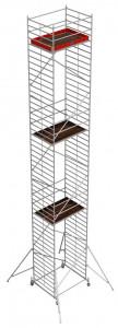 Krause STABILO Professional gurulóállvány, 50 -es sorozat, mezőméret: 2 m x 1.5 m, munkamagasság: 14.4 m termék fő termékképe