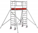 Krause STABILO Professional gurulóállvány, 1000 -es sorozat, mezőméret: 2 m x 0.75 m, munkamagasság: 4.3 m